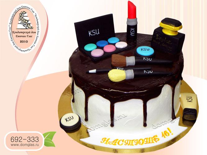 торт безмастичный глазурь косметика