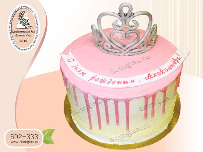 торт безмастичный с короной