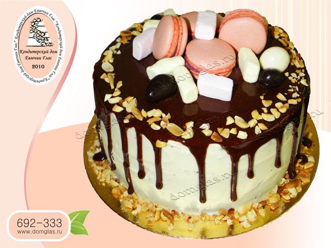 торт безмастичный шоколад конфеты пастила