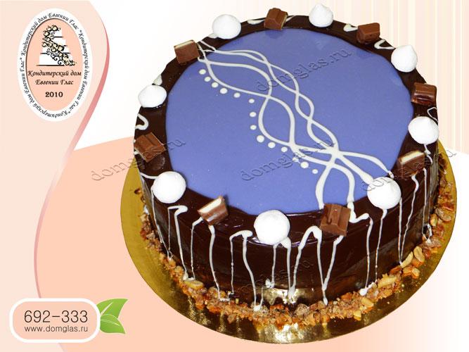 торт безмастичный глазурь шоколад