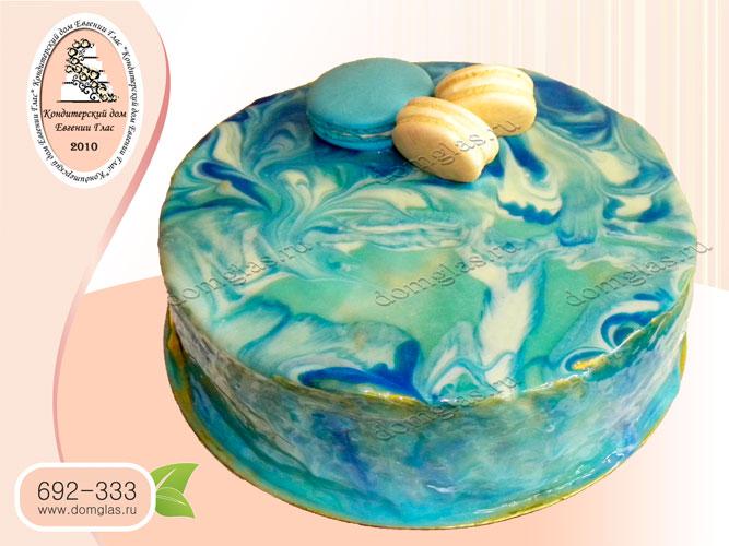 торт безмастичный глазурь макаруны