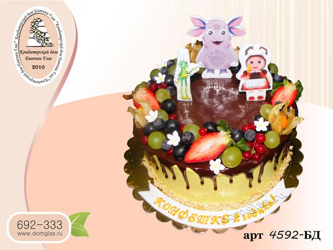 бд торт ягоды лунтик кузя мила