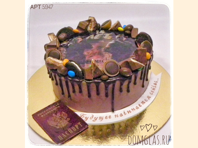 безмастичный шоколадный с печеньем