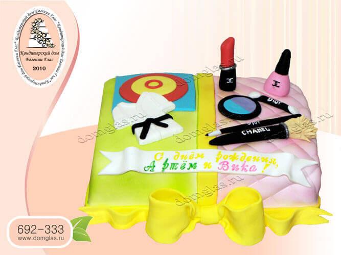 торт детский мальчик девочка кимоно помада