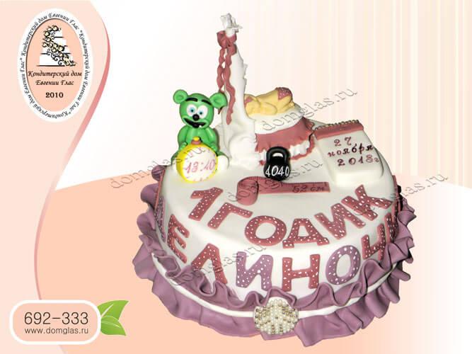 торт детский колыбель время вес дата