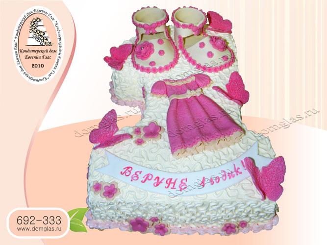 торт детский еденичка сандали платье