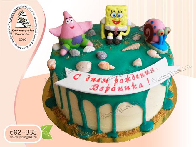 торт детский спанчбоб патрик гэри