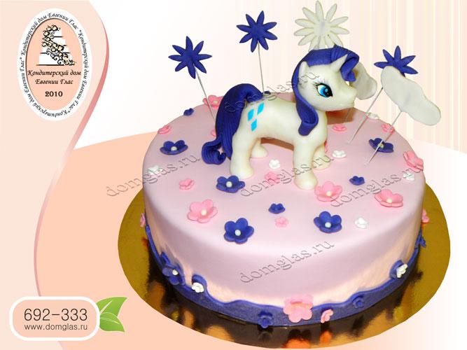 торт детский пони