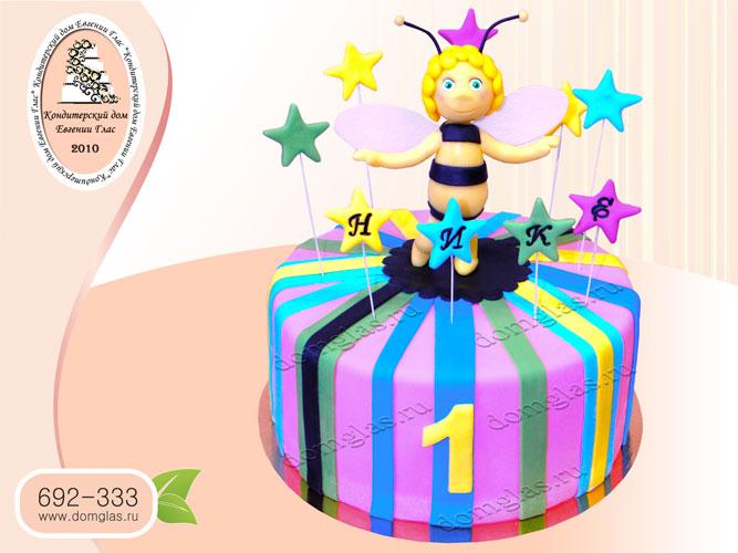 торт детский пчелка майя