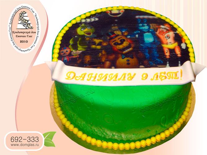 торт детский фотопечать компьютерная игра
