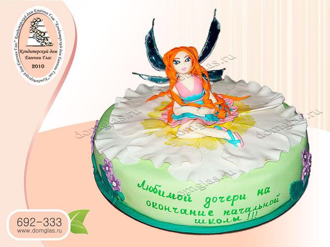 торт детский фея для дочери