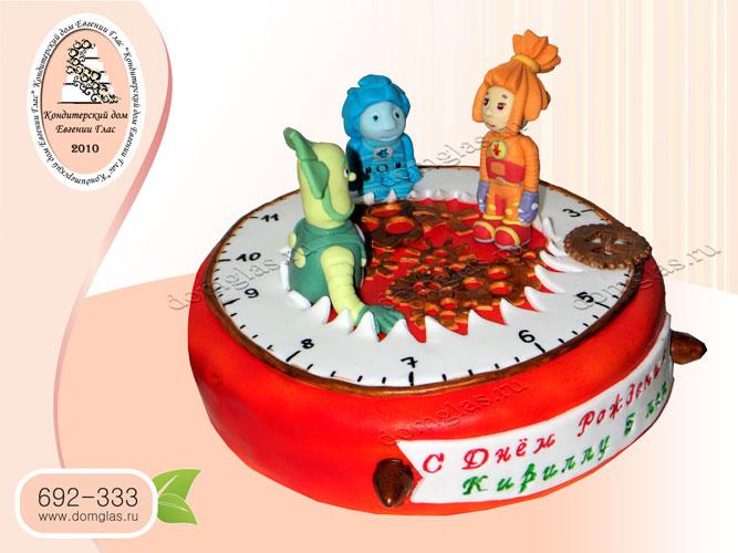 торт детский фиксики нолик симка папус