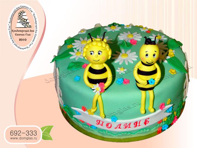 торт детский пчелка майя вилли
