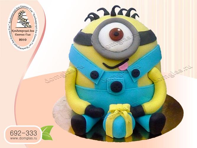 торт детский миньон подарок