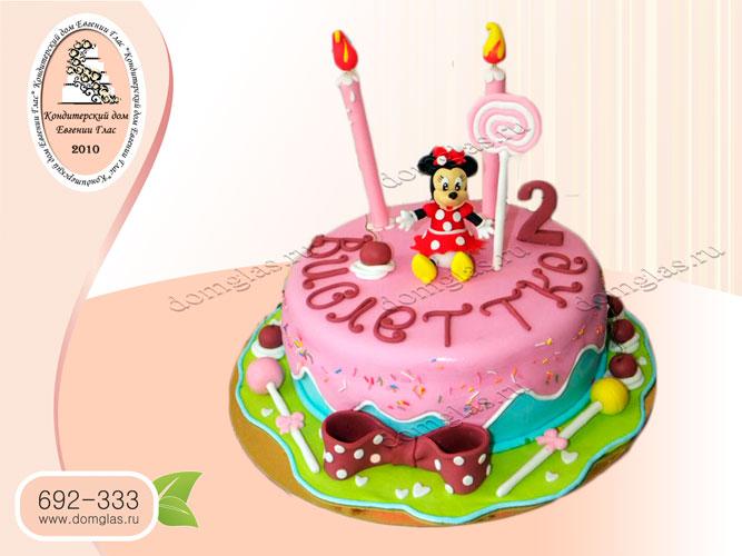 торт детский мышка мини конфеты свечки