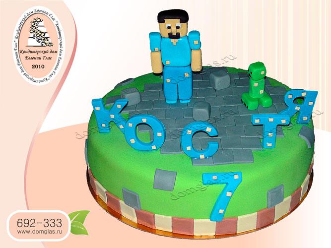 торт детский TNT