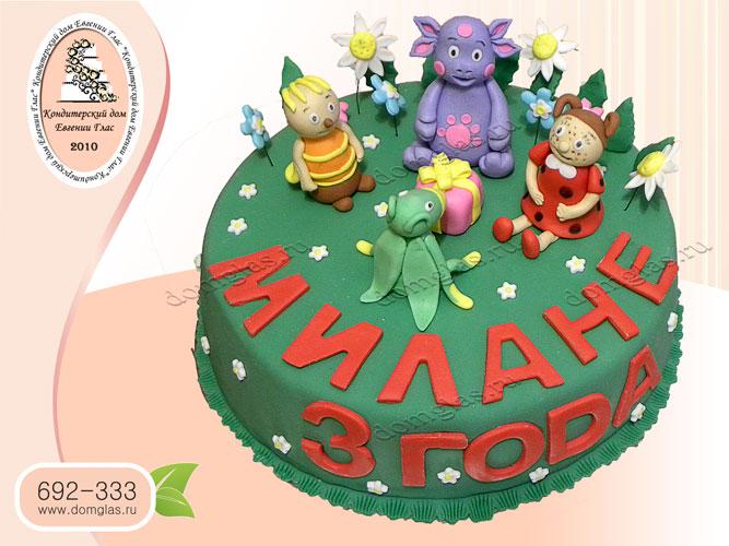 торт детский лунтик пчеленок мила кузя