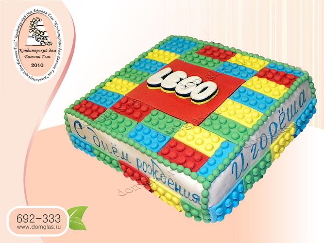 торт детский лего lego