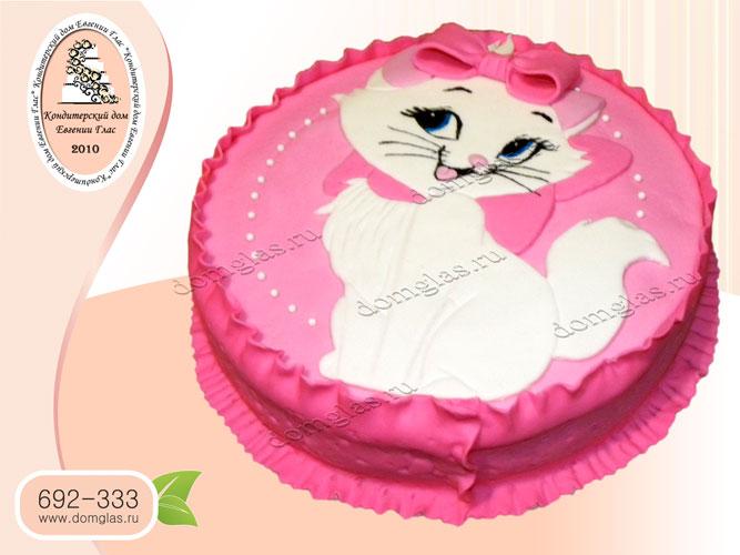 торт детский кошечка дисней