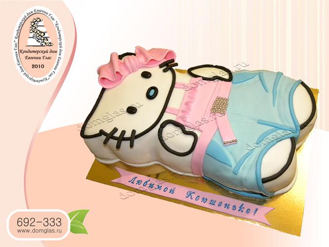 торт детский хелоу китти