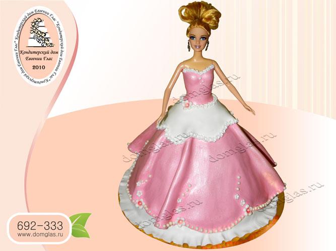 торт детский кукла барби