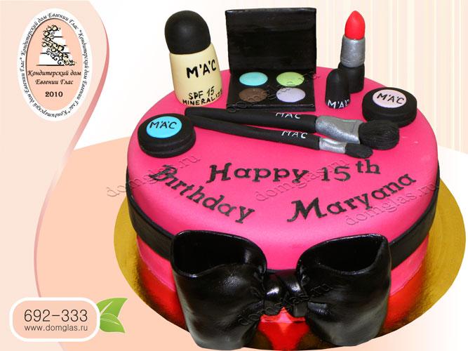 торт детский косметика МАС