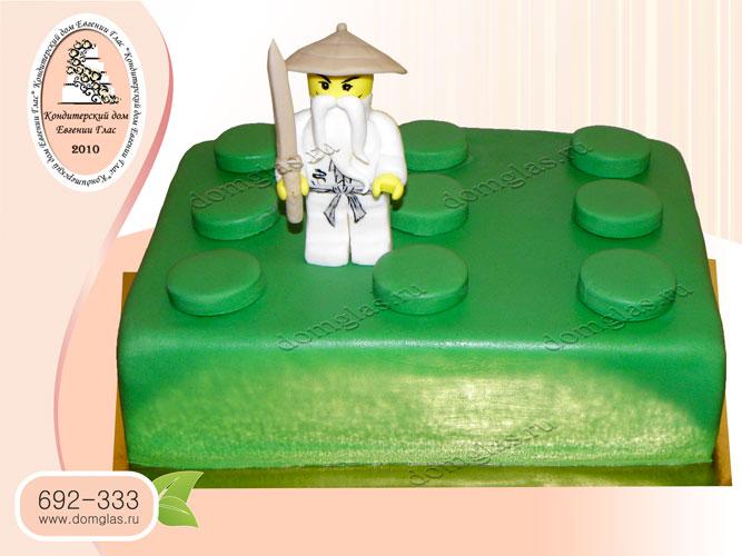 торт детский лего сэнсей ниндзя