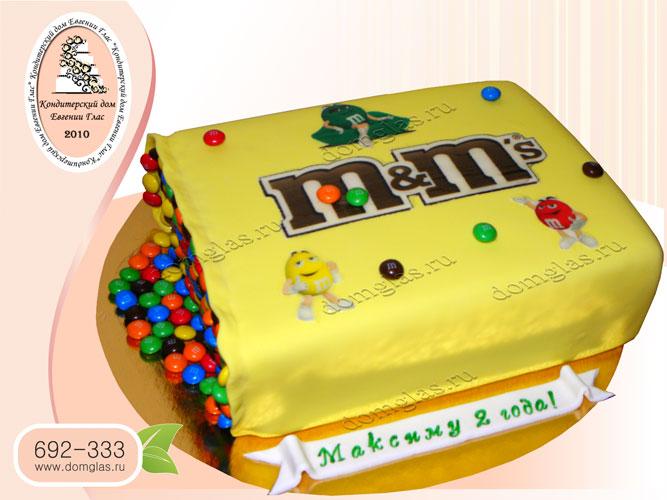 торт детский МandМ