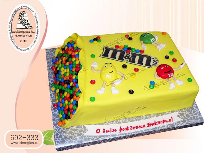 торт детский конфеты M
