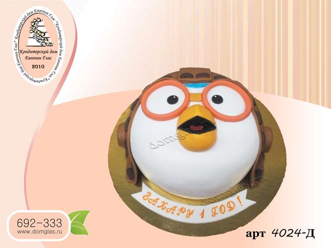 д торт  пингвиненок пороро