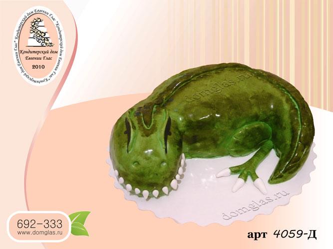 д торт 3д динозавр рептилия