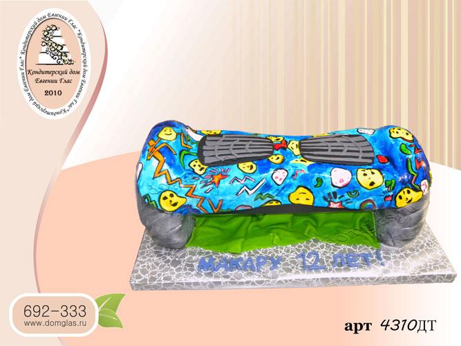 дт торт детский гироскутер