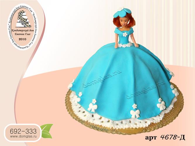 д торт кукла барби