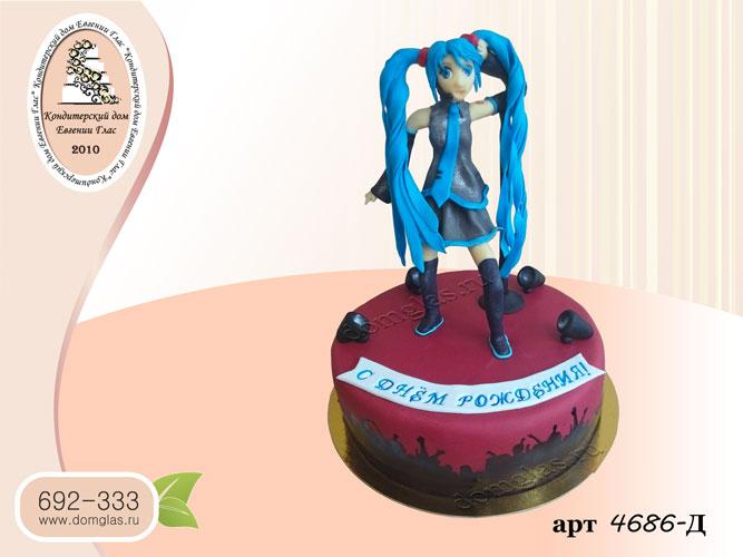 д торт фигурка аниме