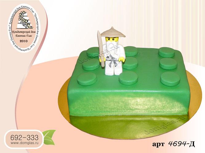 д торт лего фигурка
