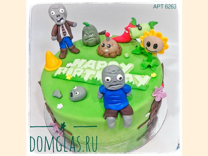 детский монстрики фигурки на торте