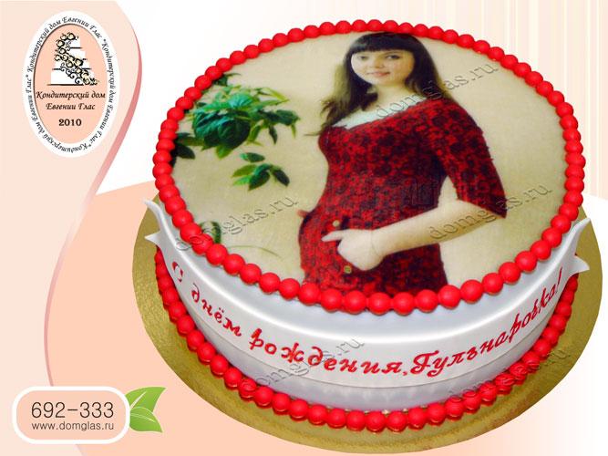 торт женский фотопринт