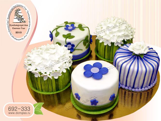торт женский малый размер цветы