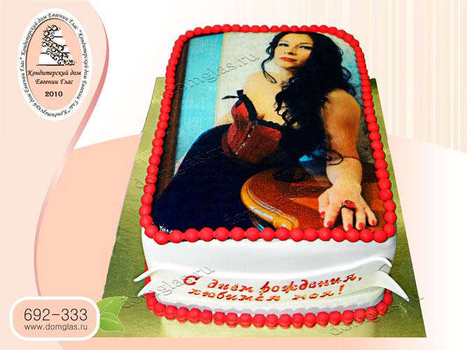 торт женский фотопечать
