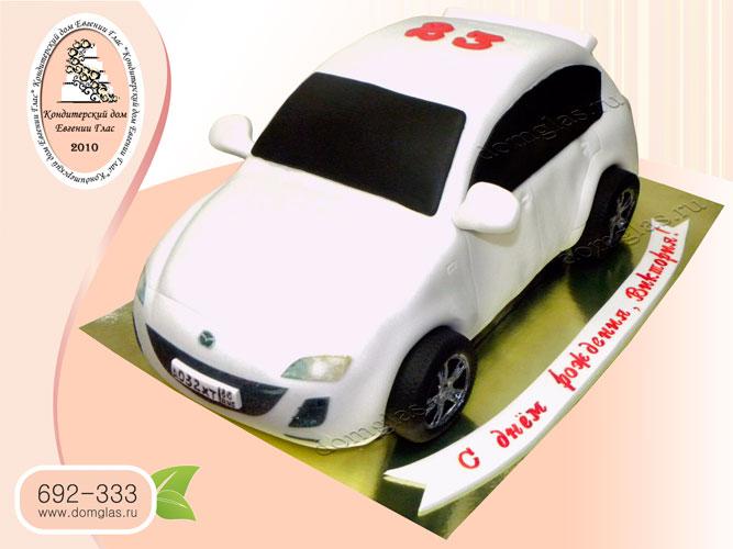 торт женский автомобиль