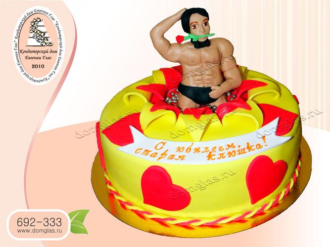 торт женский стриптизер