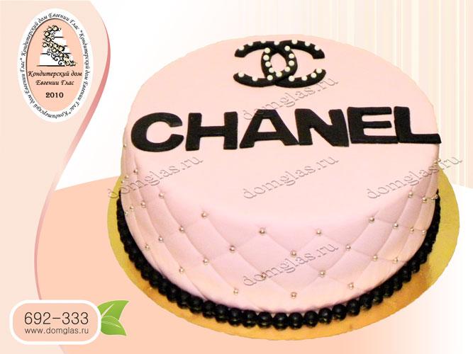 торт женский шанель chanel