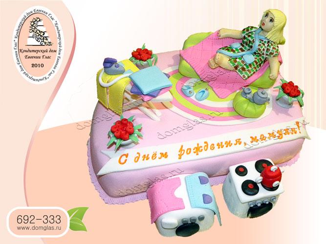 торт женский мама кровать гладилка стиралка
