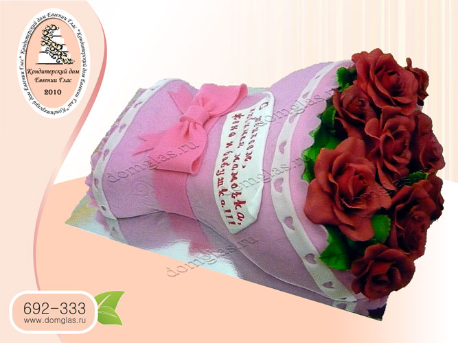 торт женский день рождения букет цветы розы