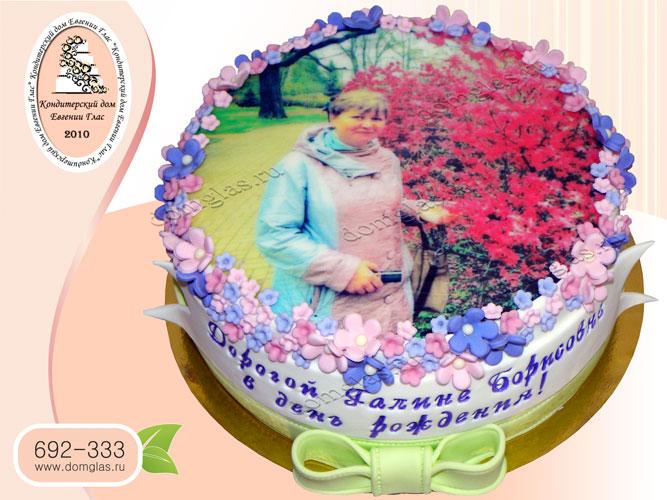 торт женский фотография цветы