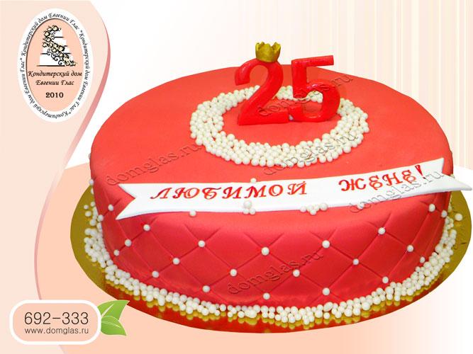 торт женский цифры маленькая корона