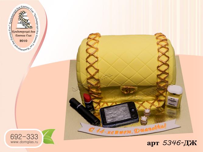 жд торт сумочка телефон косметика