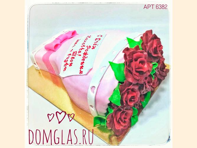 женский букет роз 3D