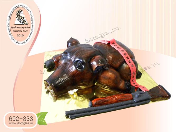 торт охота ружье кабан свинья добыча