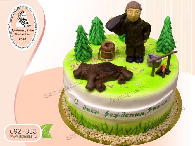 торт мужской охота охотник добыча лес